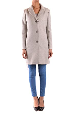 6e9390f077c Armani Jeans Femme Mcbi025143o Gris Laine Manteau  Amazon.fr ...