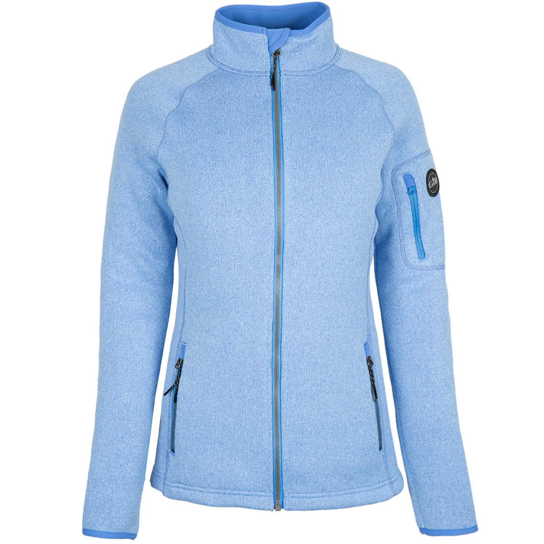 Gill レディース レディース ニットフリースジャケット 2019 - 2019 ライトブルー - 16 B07FNN8HHX, パワーストーン 石流通センター:7c3f41ba --- sharoshka.org