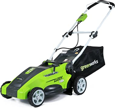 Amazon.com: Cortadora de césped Greenworks 25142 de ...