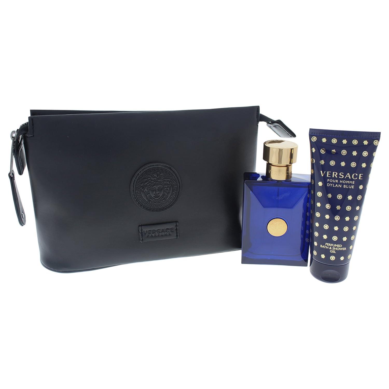 8c314aec793f Amazon.com   Versace Dylan Blue 3 Piece Gift Set for Men   Beauty