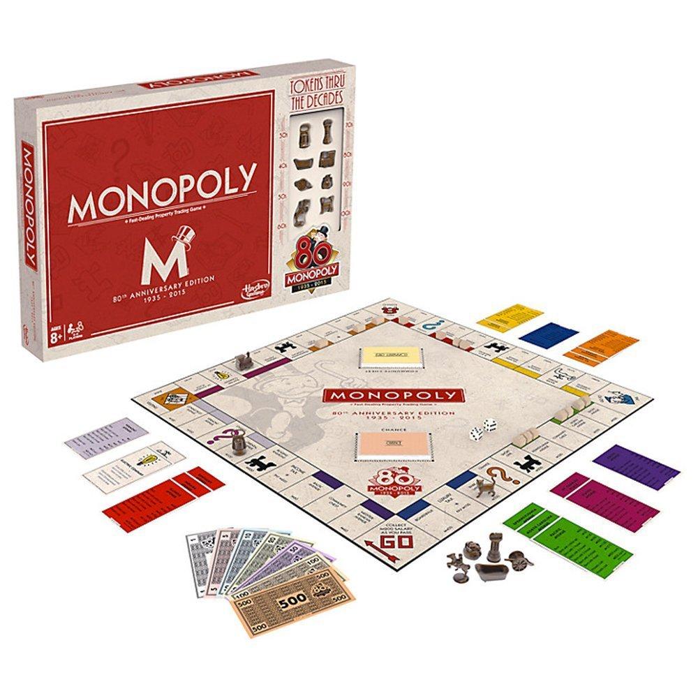 Monopoly 80th Anniversary Edition Board Game