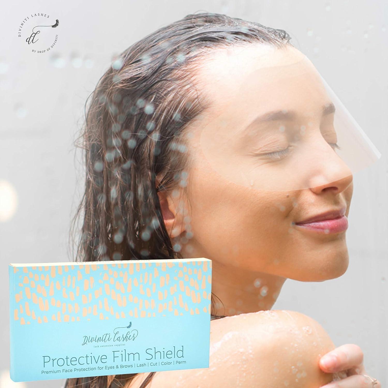 100 PCS Plastic Eye Shield I Eyelash Aftercare Products - Microblading Makeup Tattoo Eye Eyelid Blepharoplasty Protector for Eyes and Eyebrows