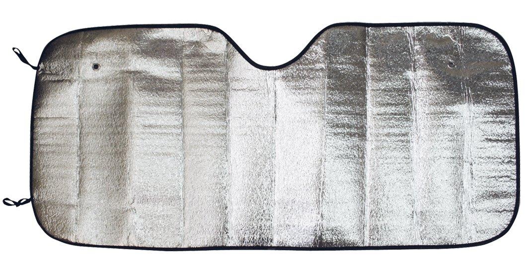 Carfactory 0842034578000Parasol Simple, Aluminium/Silver Erma
