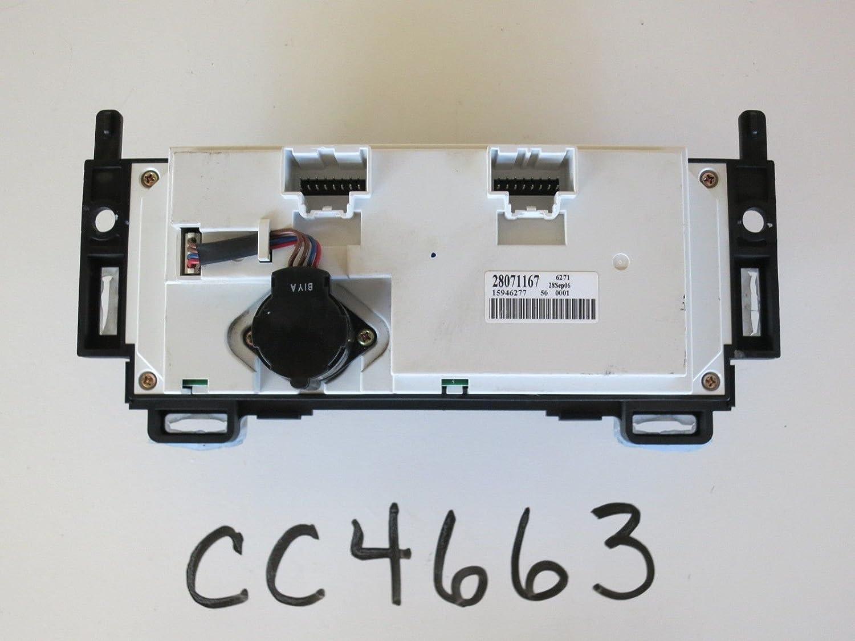 Saturn 07 08 09 Aura Climate Control Panel Temp Unit A//C Heater OEM CC4663