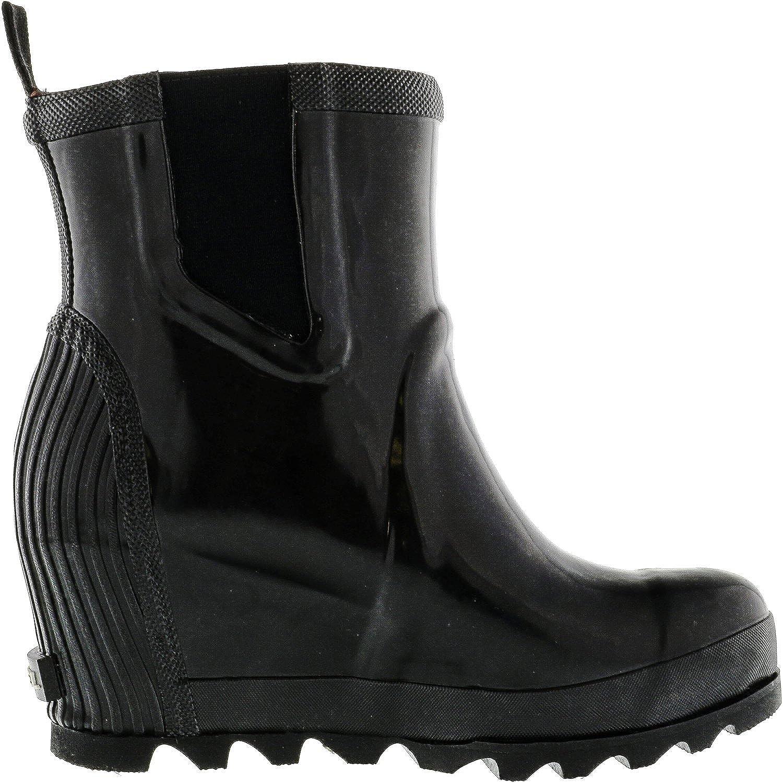 d743718f8879 Amazon.com | Sorel Women's Joan Rain Wedge Chelsea Gloss | Ankle & Bootie