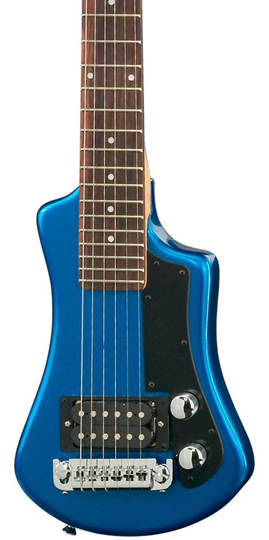 Hofner HCT - Guitarra corta, color azul