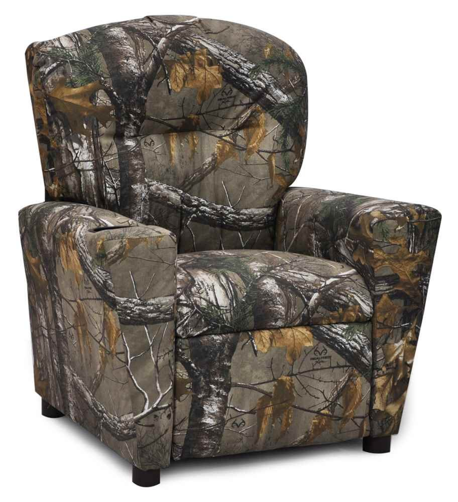 Amazon.com: Kidz World Real Tree Camouflage Kids Recliner: Home U0026 Kitchen