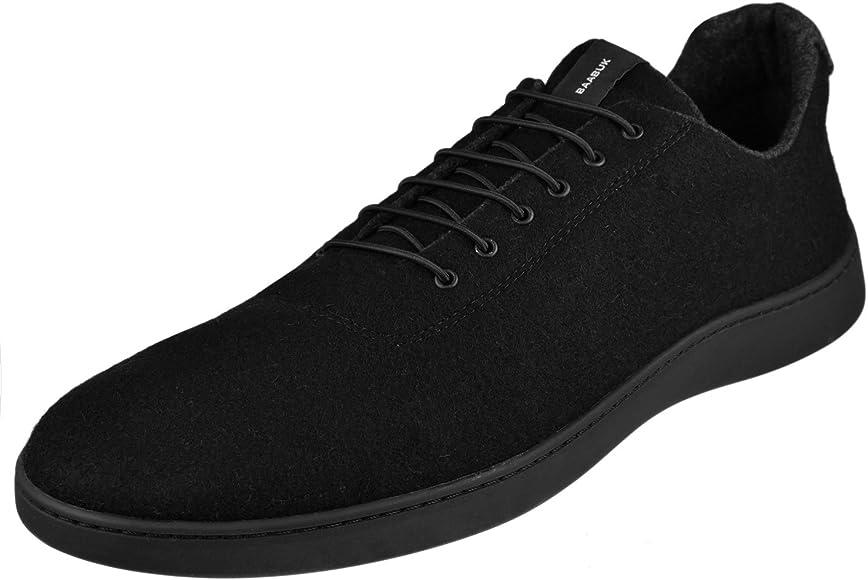 Baabuk Urban Wooler Sneaker, Black