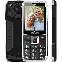 Artfone Teléfono Móvil De Botón Grande Para Teléfono