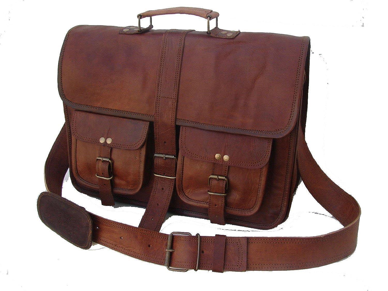bolso de cuero La bolsa de mensajero de cuero rústico
