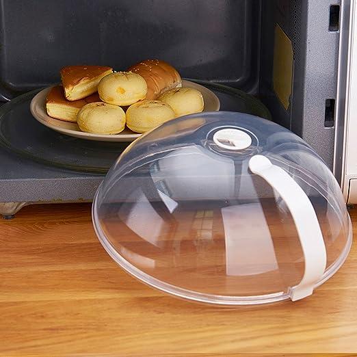 Cubierta antisalpicaduras para microondas con rejilla de ...