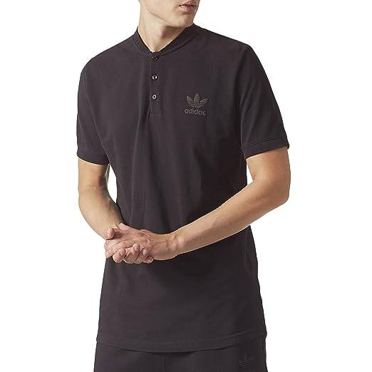 8ab632c7 adidas Originals Mens Winter Trefoil Pique Polo Shirt at Amazon ...