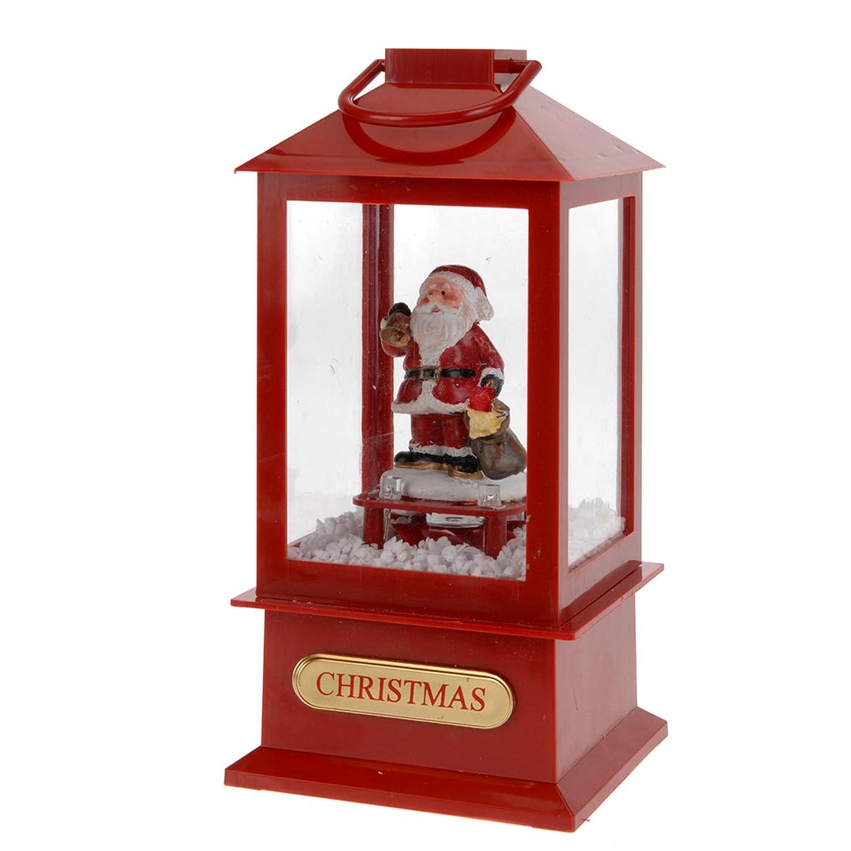 20cm Christmas Themed Lantern EASYGIFT