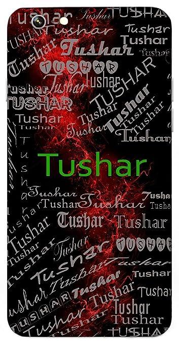 Tushar Name Sign Printed All Over Customize Amazonin Electronics