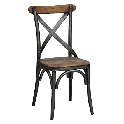 Superb Amazon Com Modhaus Living Industrial Rustic Distressed Gmtry Best Dining Table And Chair Ideas Images Gmtryco