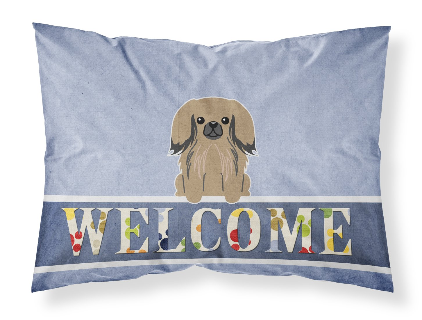 Caroline's Treasures Whippet Welcome Pillowcase, Standard,