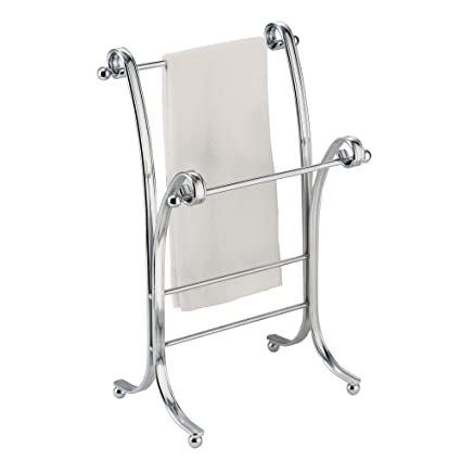 Chrome Hand Towel Stand For Interdesign York Lyra Fingertip Bath Hand Towel Holder Stand Chrome
