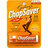 Chopsaver Gold Lip Balm for Musicians with SPF-15