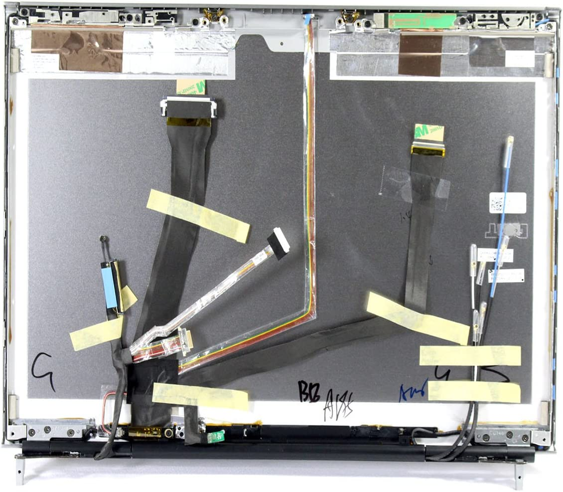 XC6K8 Dell Precision M6500 17 LCD Back Cover Lid Assembly with Hinges Grade A XC6K8