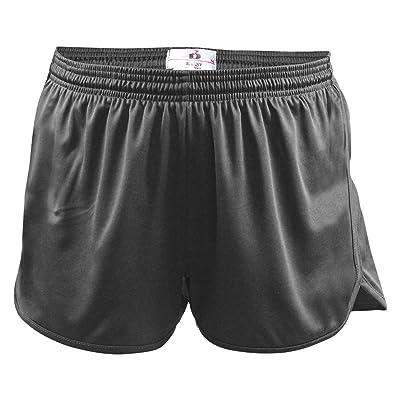 Badger Big Boy's Elastic Waistband Track Shorts, X-Small, Graphite