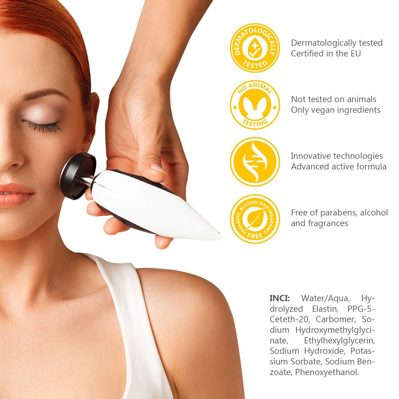 BEAUME® ELASTIN Ultrasonido Gel con proteínas de elastina para tratamientos de belleza anti-envejecimiento apparative, reafirmante y rejuvenecedor, ...