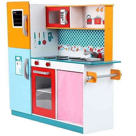 Infantastic Cucina gioco giocattolo per bambini bimbi di legno ca ...