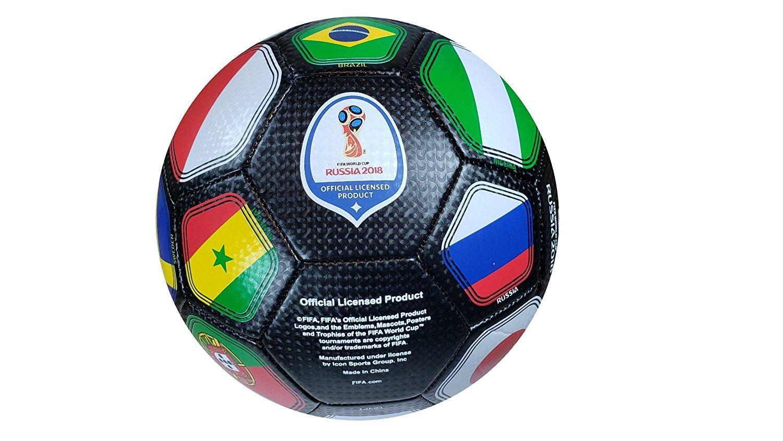 FIFA公式Russia 2018 World Cup公式ライセンスサイズ5ボール B0793DZXT1 5|FIFAオフィシャル ボール5-01-7 5