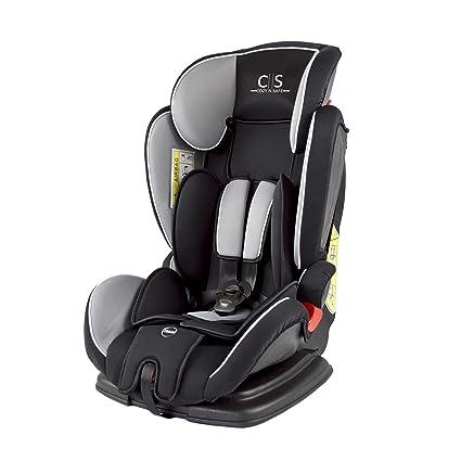 Cozy N Safe, Silla de coche grupo 1/2/3, negro