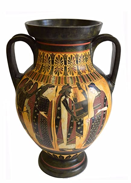 Amazon Aphrodite Apollo And Hermes Ancient Greek Amphora