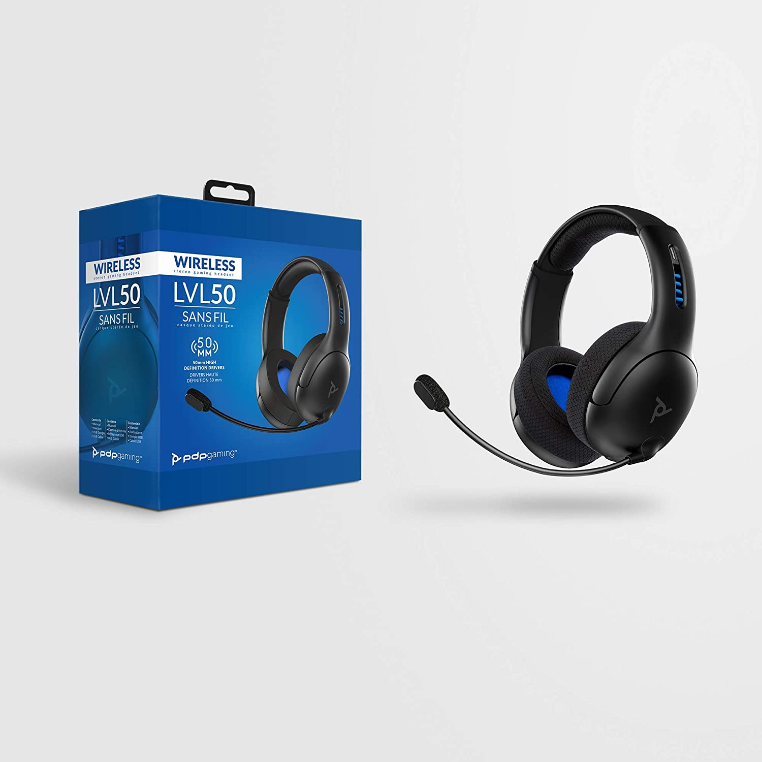 PS4 LVL50 Wireless Stereo Gaming Headset