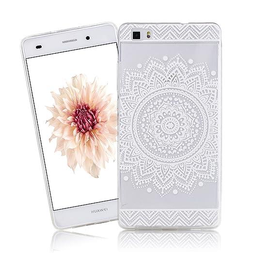 22 opinioni per Cover Huawei P8 Lite, CaseLover Huawei P8 Lite Cover Custodia Trasparente Rigida