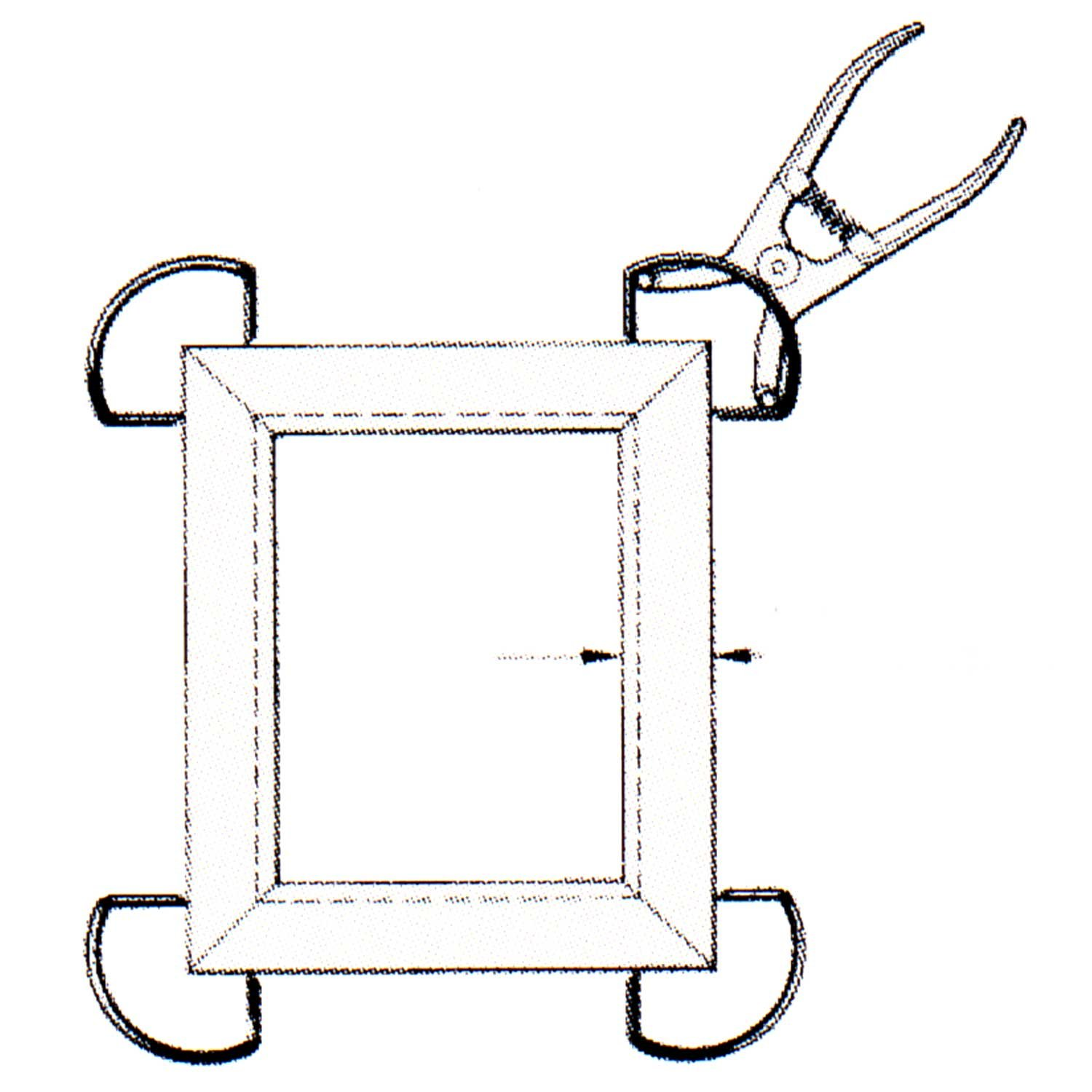 Ulmia Miter Clamp Set with Wooden Box by Ulmia