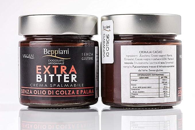 16 opinioni per Crema Spalmabile al Cioccolato Artigianale Fondente EXTRA BITTER- Set 2