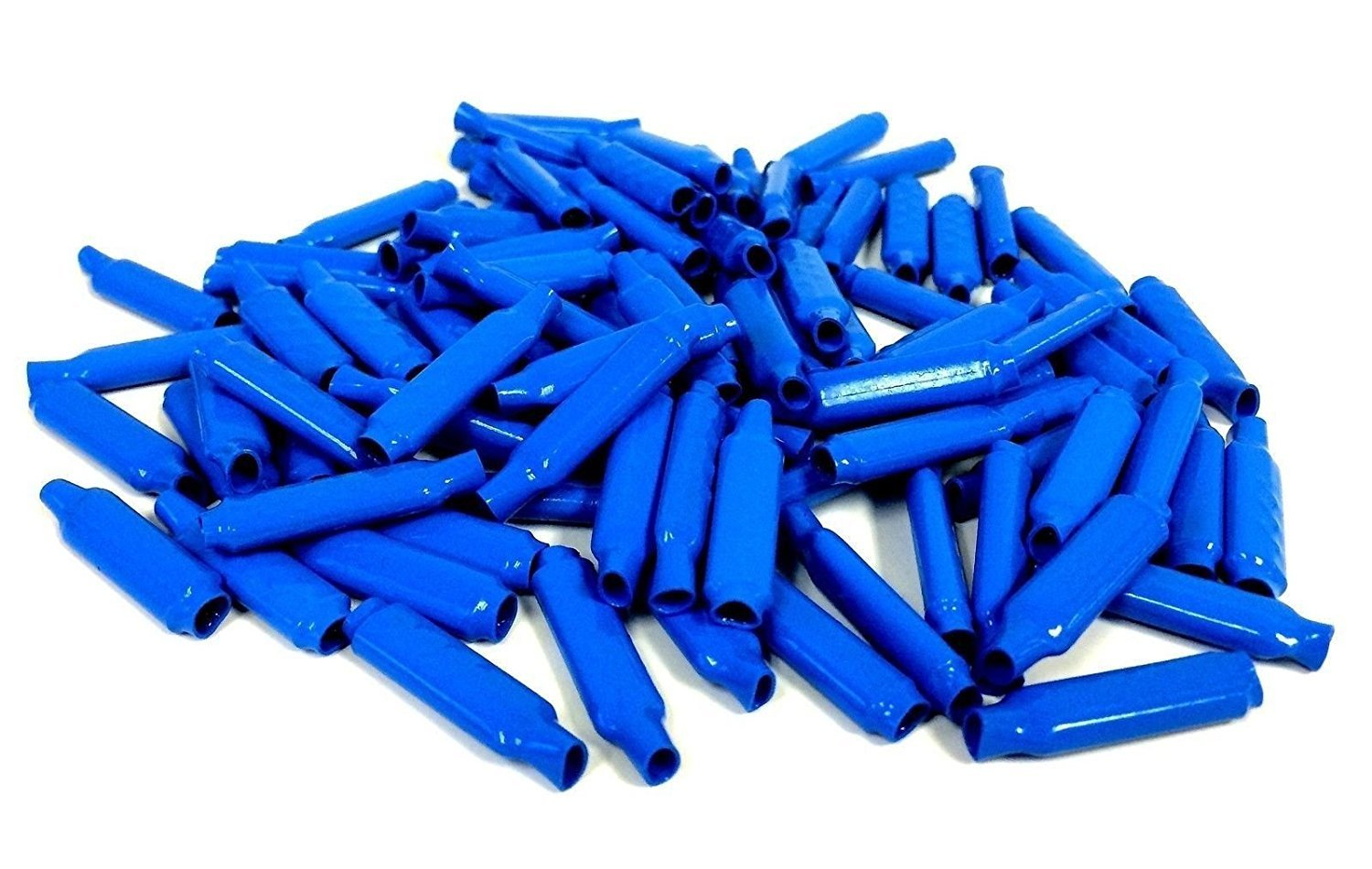 Muttiy B Connectors Silicone Filled Wet B Gel Wire Connectors Wire Crimp Bean Type Splice for Low Voltage, Blue(100Pcs)