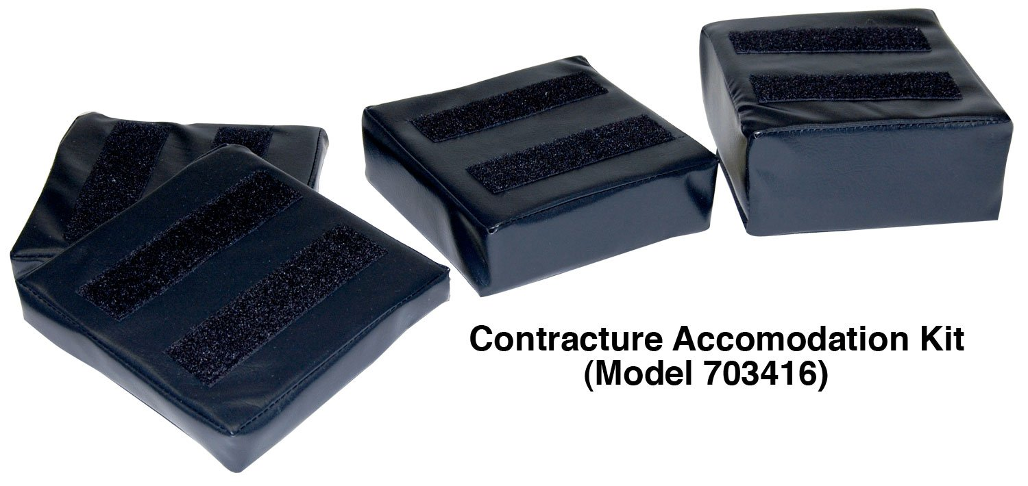 Contracture Accommodation Kit, Model 703416 - 16''-18'' for Foot Cradle