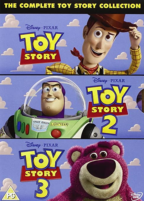 Toy Story 1 - 3 [Reino Unido] [DVD]: Amazon.es: Movie, Film: Cine ...