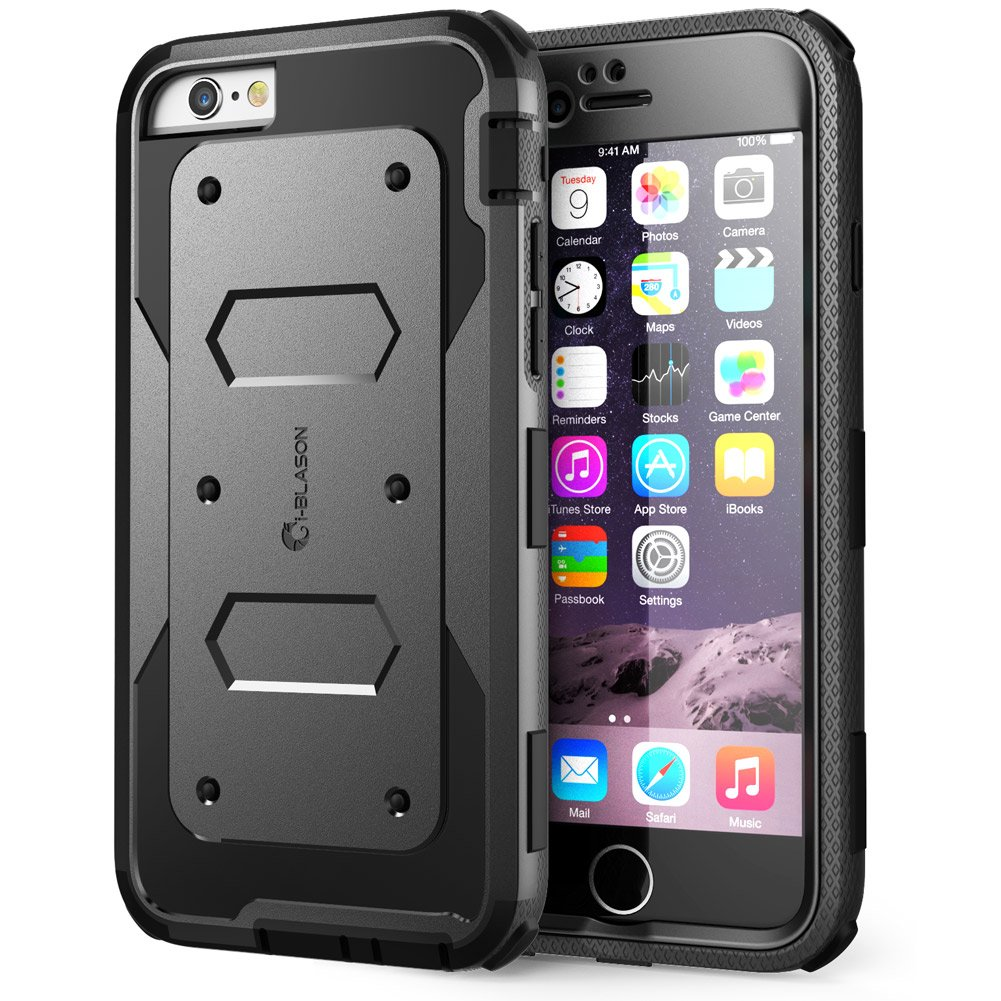 Top 10 Best Iphone 6s Plus Heavy Duty Armor Case Covers 2018 2020 Uag Slate 6 Armorbox I Blason Builtin Screen Protector Shock Reduction Bumper For Apple