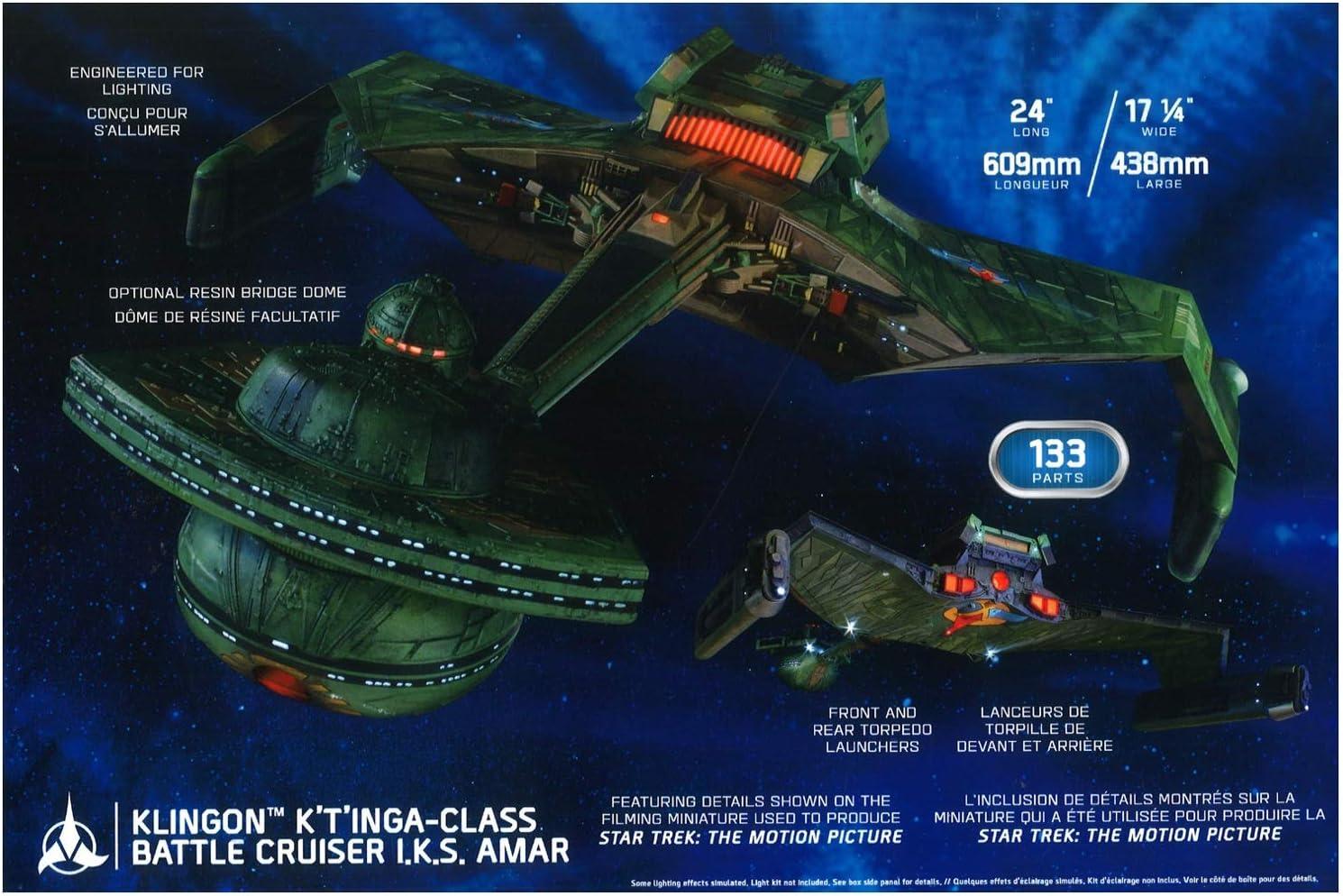 LED Lighting Kit für Star Trek Klingon K/'T/'INGA-Class 1:350 Polar Lights MKA031