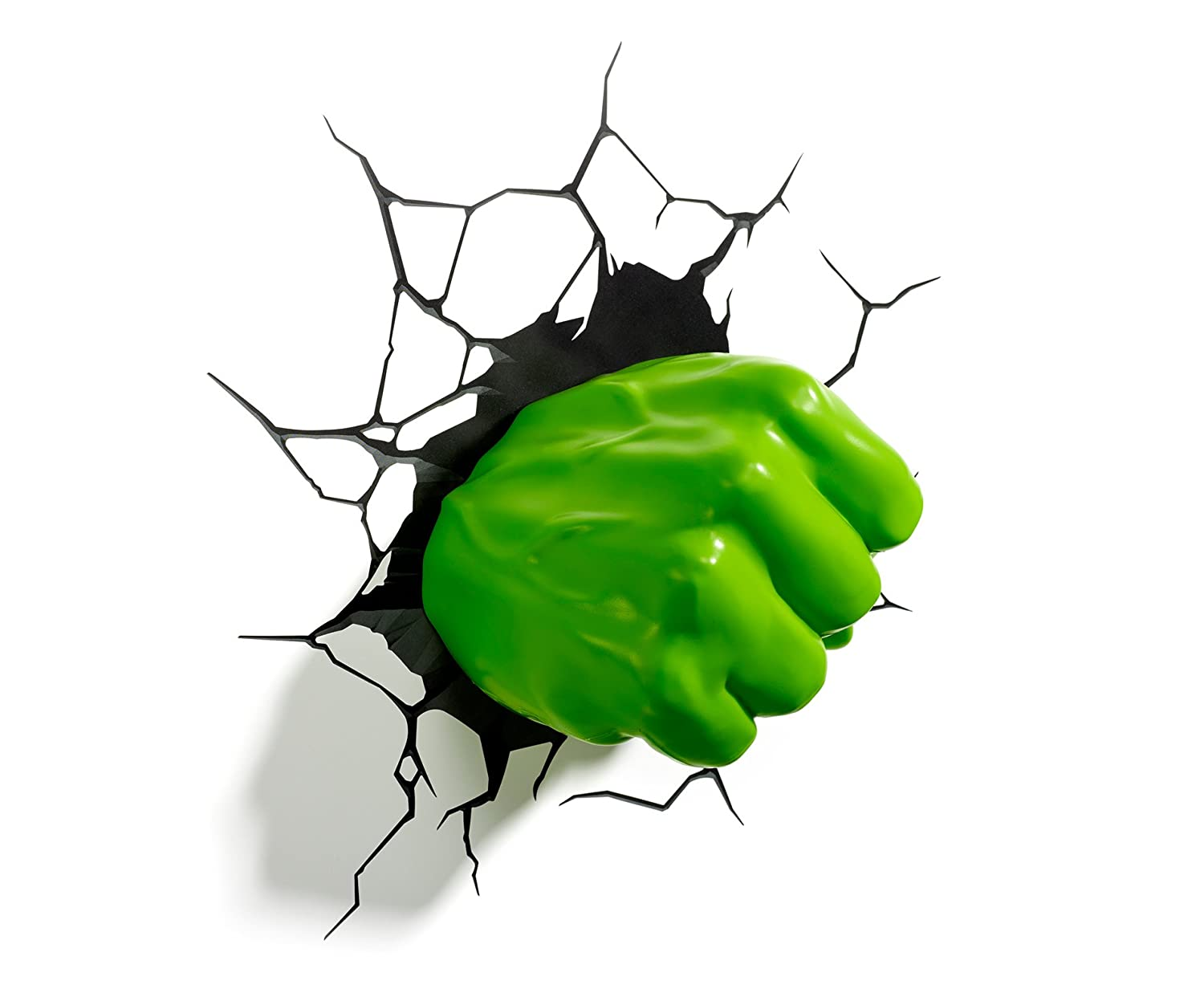 3D Hulk Fist Light Philips Wandleuchte 915004921401 3DFX-12418_Multicolore