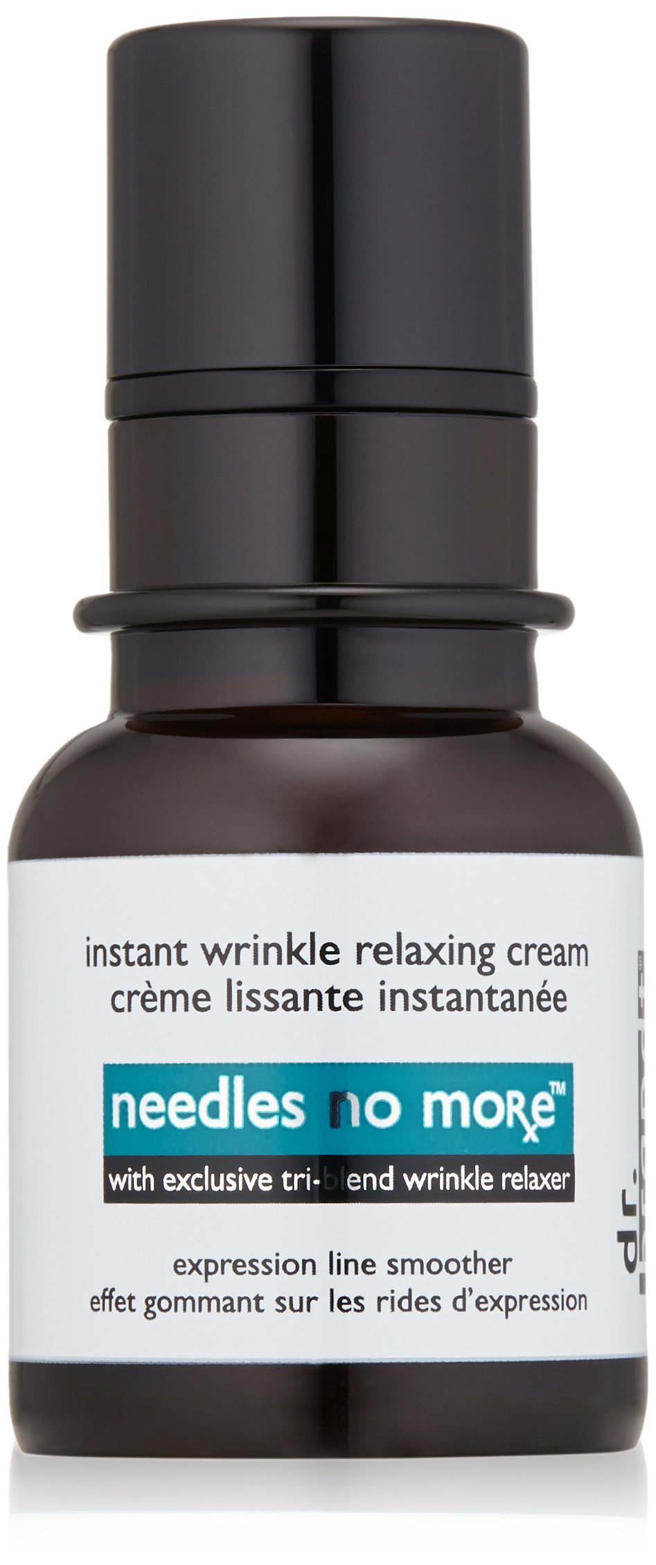 dr. brand needles no more wrinkle smoothing cream, 0.5 fl. oz. / 15 ml