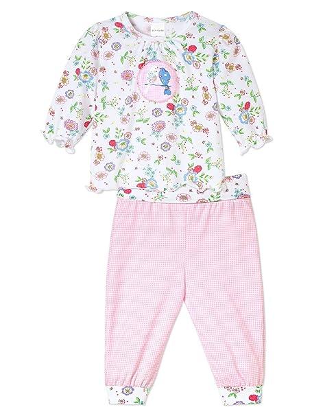 Schiesser Bebé - Pijamas De Niña Dos Piezas - 142359 - algodón, blanco, 100