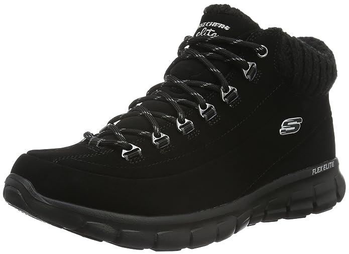 abd26de5 Skechers Synergy-Winter Nights, Botas para Mujer: Amazon.es: Zapatos y  complementos