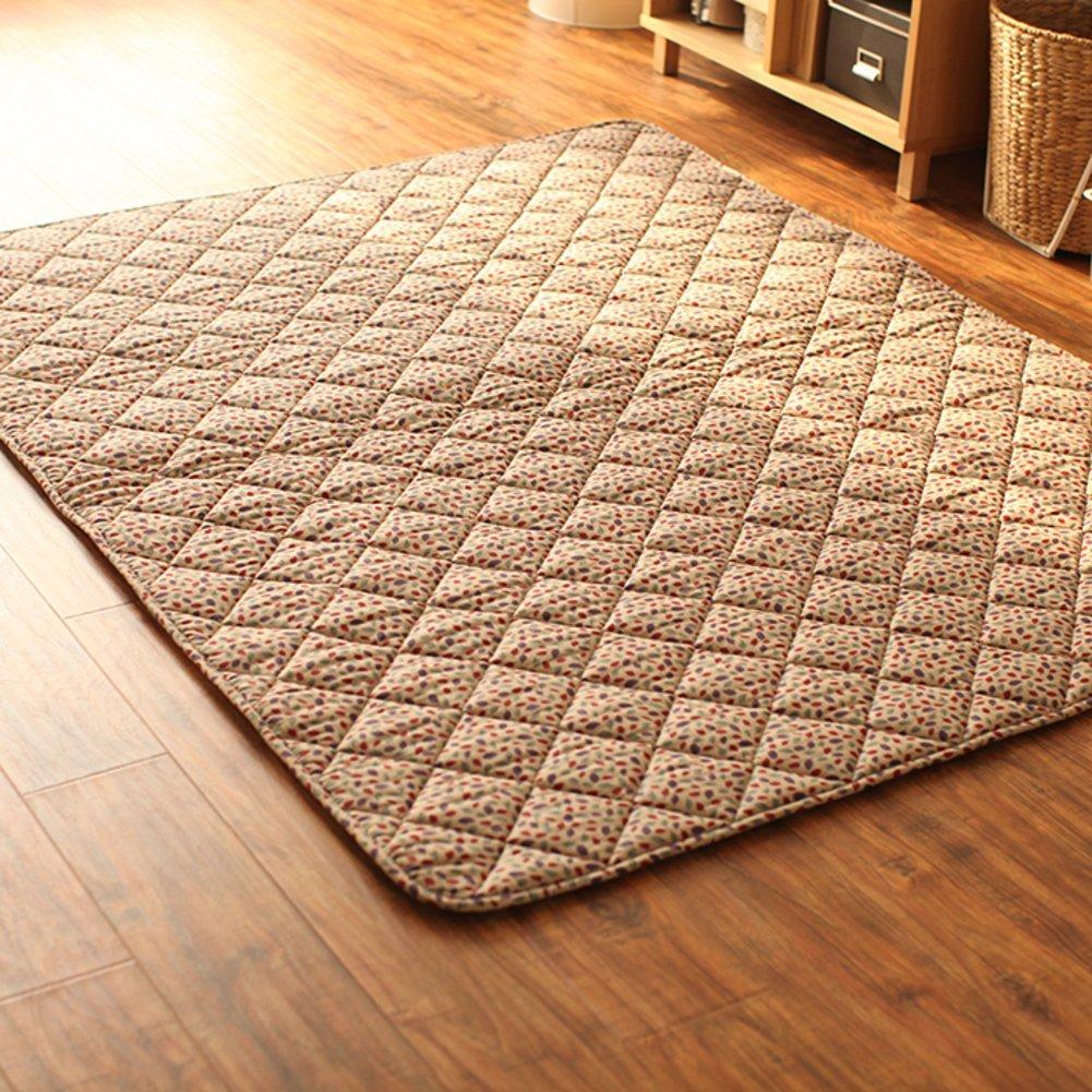 GX&XD Vintage Tatami Floor Mat,Folding Mattress Floor Lounger Cover Floor Mattress Tatami Mats Creeping Mats