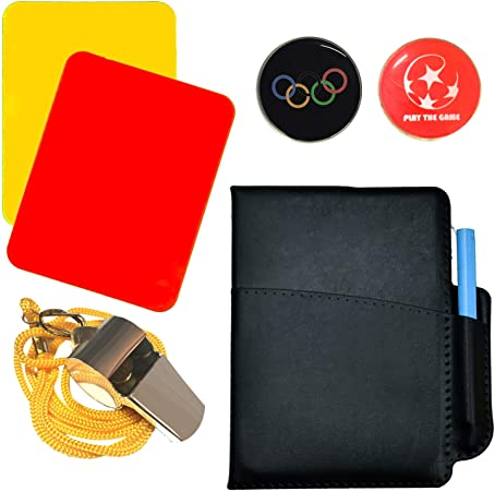 5 COLOURS NECK WRIST CORD SPORTS WHISTLE FOOTBALL RUGBY HOCKEY REFEREE PLASTIC
