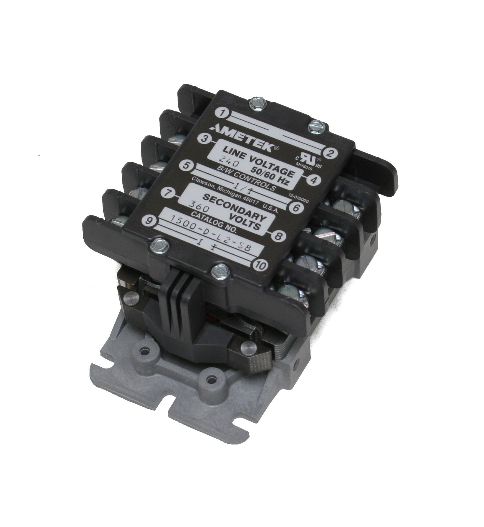 B/W Controls 1500-D-L2-S8 Liquid Level Control Relay