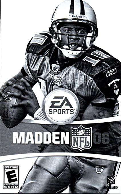 Amazon com : Madden NFL 2008 PS2 Instruction Booklet