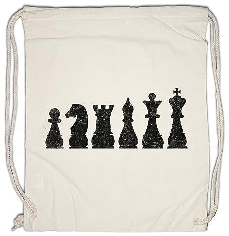 Urban Backwoods Chess I Bolsa de Cuerdas con Cordón Gimnasio ...