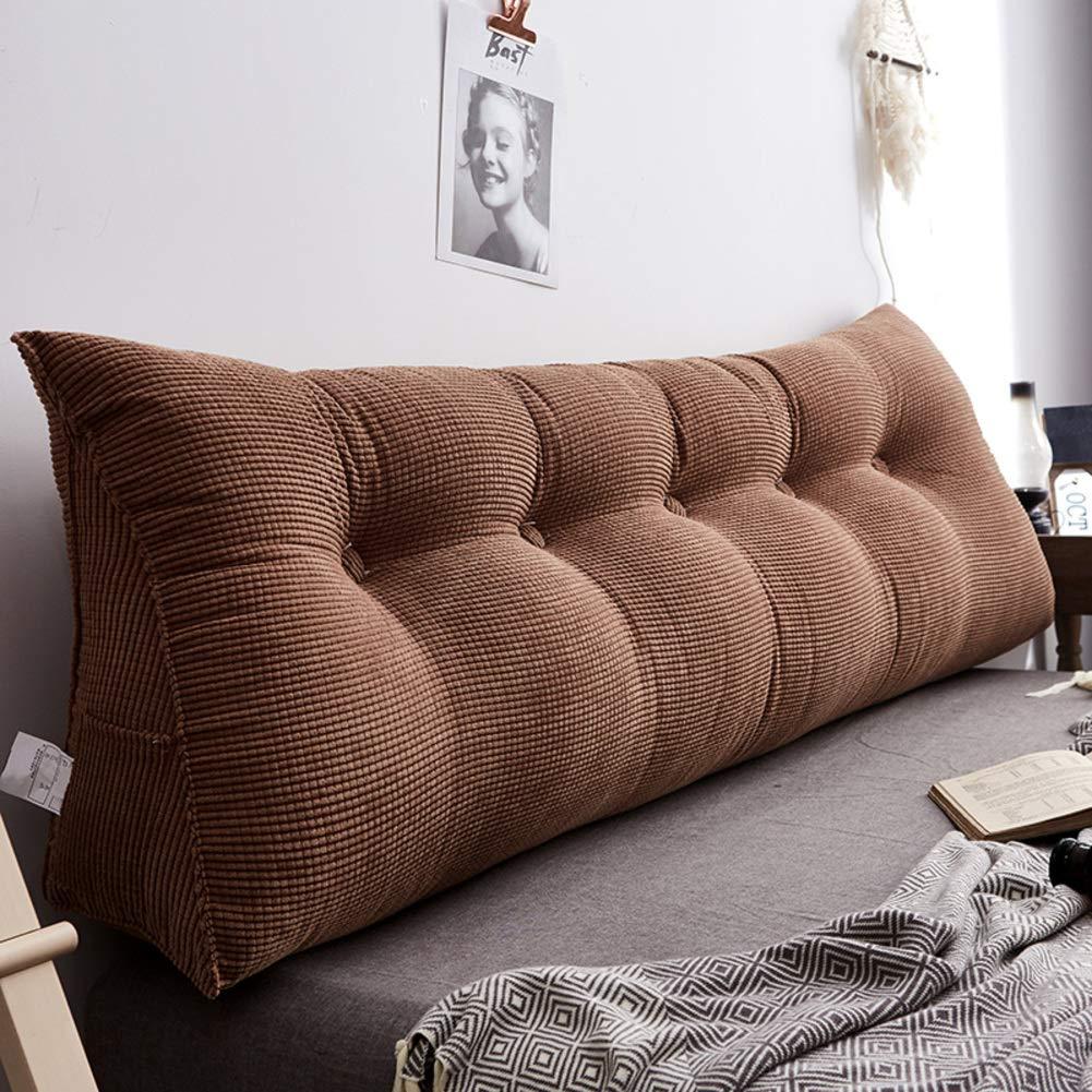 三次元ベッド背もたれ枕,畳枕腰枕,ベッドの上の大きなクッション,ソファ戻る,洗って洗うのが簡単-J 200x23x45cm(79x9x18inch) B07QLCFM5F J 200x23x45cm(79x9x18inch)
