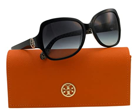 5143a3751da7 Amazon.com: Tory Burch Women's 0TY7059 Sunglasses, Black: Tory Burch ...