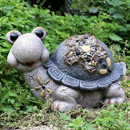 Jardín Al Aire Libre Adornos De Animales Para Decoración Escultura Paisaje Patio Villa Balcón Decoración,D: Amazon.es: Hogar